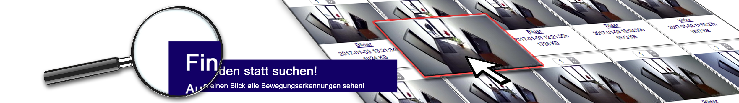 C-MOR Videoueberwachung - einfach Bewegungserkennungen finden