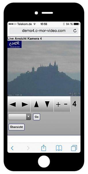 videoüberwachung mit iphone